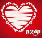 любовный дизайн — Cтоковый вектор