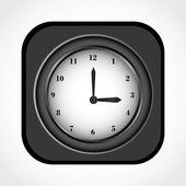 Icono hora — Vector de stock