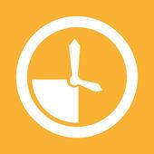 Time icon design — Cтоковый вектор