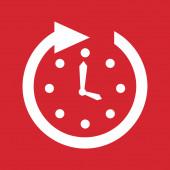 Time icon design — Stock Vector
