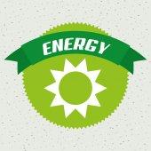 Energy icon design — Stock Vector