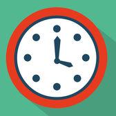 Time icon design — Vector de stock