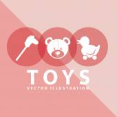 Toy icon — Stock Vector