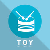 Toy icon — Stock Vector