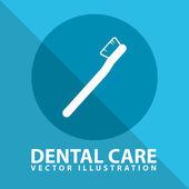 Diş bakımı — Stok Vektör