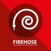 Firehose — Stock Vector
