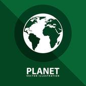 Ecology icon — Stock Vector