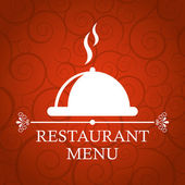 Restaurant cover — Stock Vector