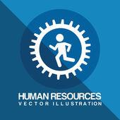 Human resources — Stock Vector