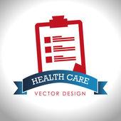 Medical design, vector illustration — ストックベクタ