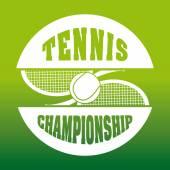 Tenis sporu — Stok Vektör