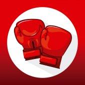 Boxing sport — Stock vektor