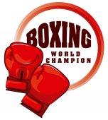 ボクシングのスポーツ — ストックベクタ