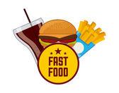 Food menu — Stock Vector
