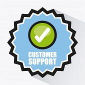 Customer support — Stock Vector