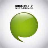 Bubble talk — Stock Vector