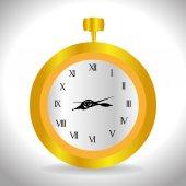 Time design, vector illustration. — Vettoriale Stock