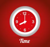 Time design, vector illustration. — Wektor stockowy