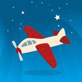 Toys design over cloudscape background vector illustration — Stock Vector
