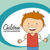 Children — Stock Vector
