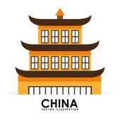 China culture — Stock Vector