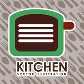 Keuken pictogram — Stockvector