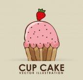 Pastry icon — Stock Vector