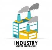 Industry building — Stock Vector
