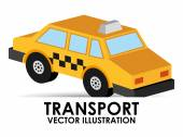 Transport vehicle — Stock Vector
