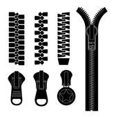Zipper design, vector illustration. — Stock Vector