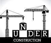 Construction design,vector ilustration. — Stockvektor