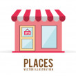 Places — Stock Vector #61828687