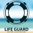 Life guard — Stock Vector #61829681