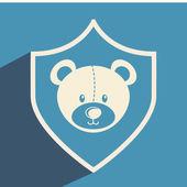 Toys icon design — Stock Vector