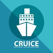 Cruice icon — Vector de stock