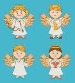 Angel design, vector illustration. — Stock Vector