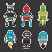 Robot design — Stock Vector