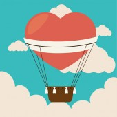 Airballoon design — Stock Vector