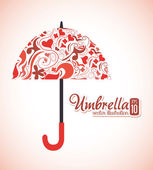 Umbrella design — Vector de stock
