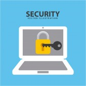 Security icon — Stock Vector