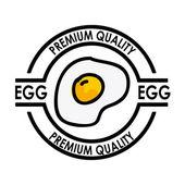 Egg premium quality — Stock Vector