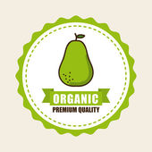 Organické potraviny — Stock vektor