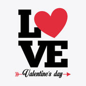 Láska koncept — Stock vektor