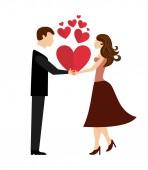 Conceito de amor — Vetor de Stock