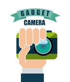Gadgets tech — Stock Vector