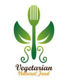Продовольственный дизайн, векторная иллюстрация — Cтоковый вектор
