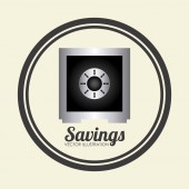 Save money — Stock Vector