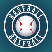 Baseball game — Stock Vector