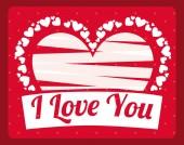 Giorno di san valentino — Vettoriale Stock