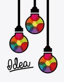 Idea icon — Vetorial Stock
